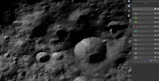 credit:  Vesta Trek by NASA