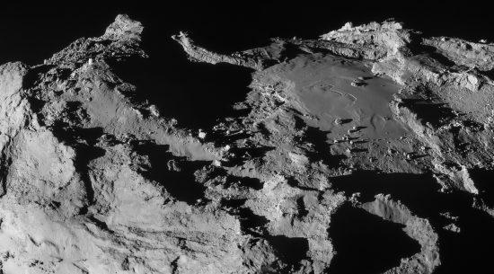 ESA/Rosetta/NAVCAM – CC BY-SA IGO 3.0 Click for larger format