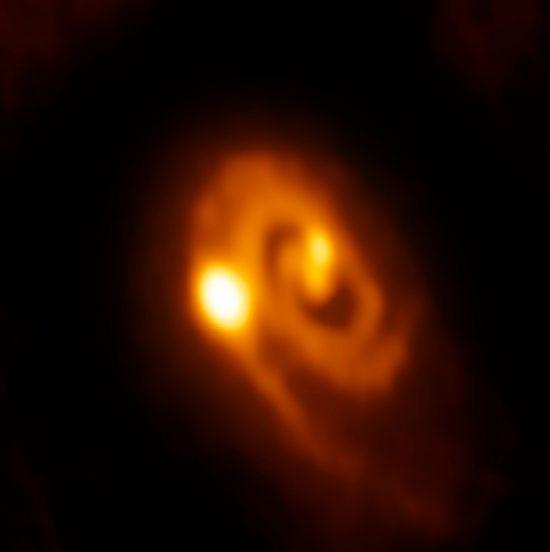 Credit: ALMA (ESO/NAOJ/NRAO)/J.J. Tobin (University of Oklahoma/Leiden University)